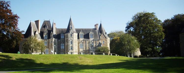 Séminaire, Formation Location du parc et du château de Lancheneil à 15 minutes de Laval