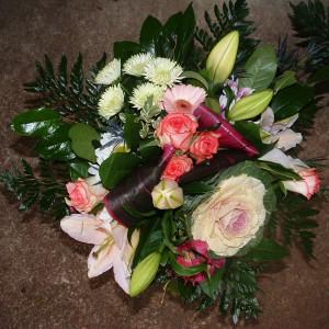 Activité art floral au foyer Oasis