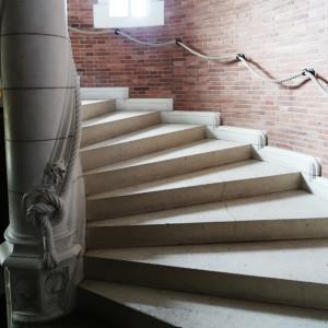 Escalier d'honneur château de Lancheneil