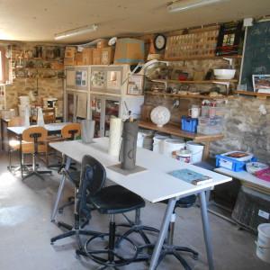 Atelier terre foyer de vie OASIS Association lancheneil