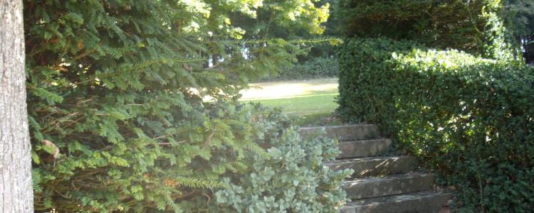 Le parc du château de Lancheneil