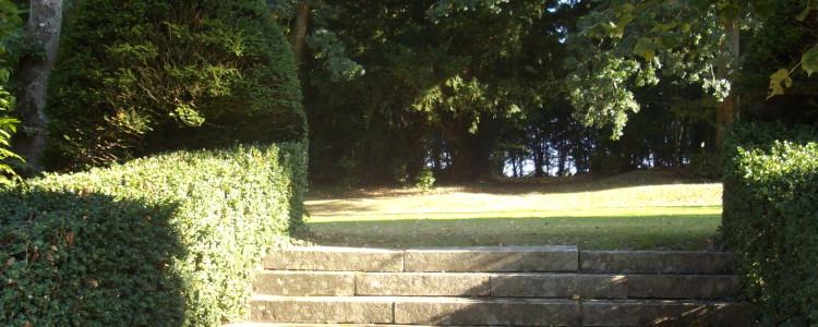 Autre vue du parc du château de Lancheneil