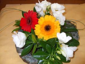 Les partenariats atelier floral foyer de vie Oasis association Lancheneil
