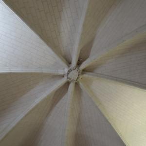 Plafond de la salle d'arme