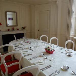 Accueil de séminaire et formation au château de Lancheneil à 15 minutes de Laval en Mayenne 53
