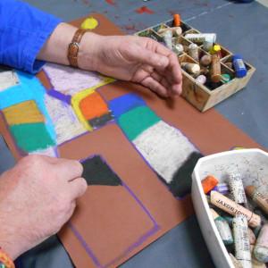 atelier peinture carré