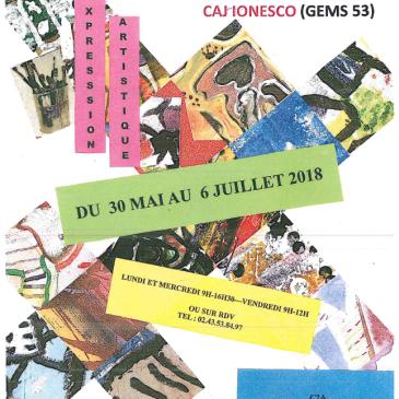 Participation du CAJ Ionesco à l'exposition «A chacun son coin»