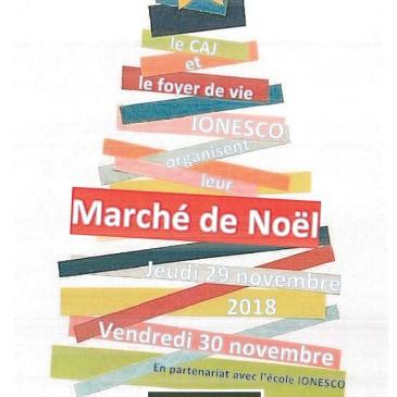 Le marché de Noël du Foyer de vie et du CAJ Ionesco