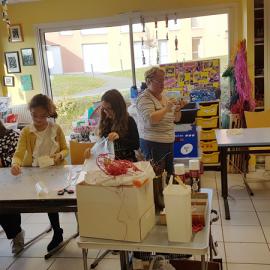 Partenariat entre le CAJ Ionesco et l'école Saint Martin de Montsûrs